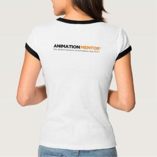 Clave en la camiseta del campanero de las mujeres