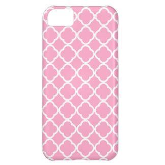 Clavel Quatrefoil rosado