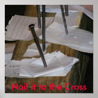 Clávelo a la cruz póster