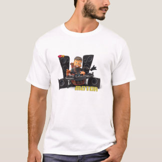 Clay Kids - camiseta Motor blanca