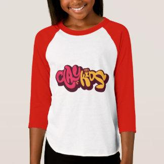 Clay Kids - Chica Camiseta