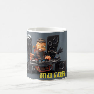 Clay Kids - Taza Motor gris