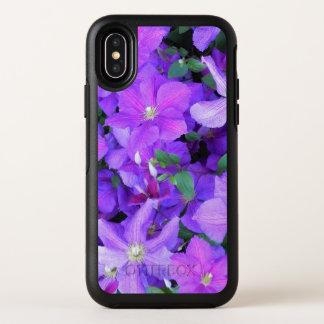 Clematis violeta hermoso