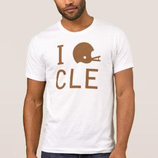 Cleveland - marrón camiseta
