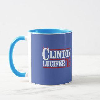 Clinton Lucifer 2016 -- - Anti-Hillary - Taza