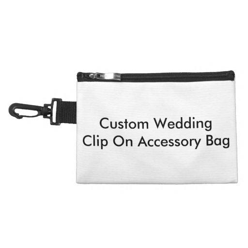 Clip de encargo del boda en bolso accesorio