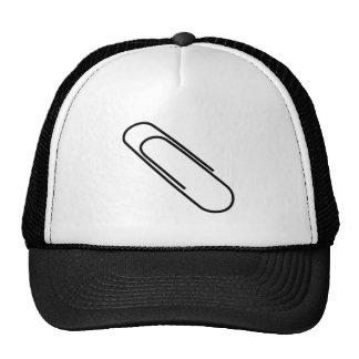 Clip de papel gorras