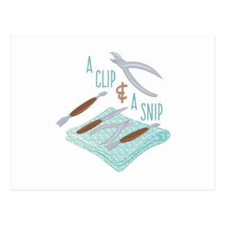 Clip y recorte postal