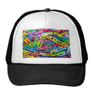 Clips de papel coloridos