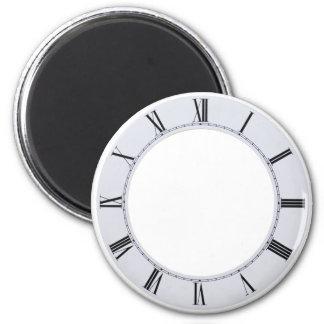 ClockFace060709 Imán Redondo 5 Cm