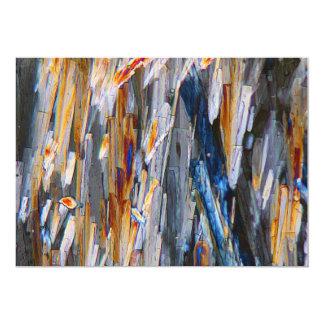 Cloruro de calcio invitación 12,7 x 17,8 cm