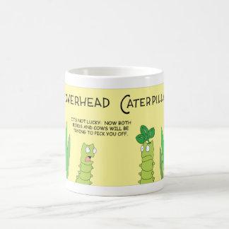 Cloverhead Caterpillar Taza De Café