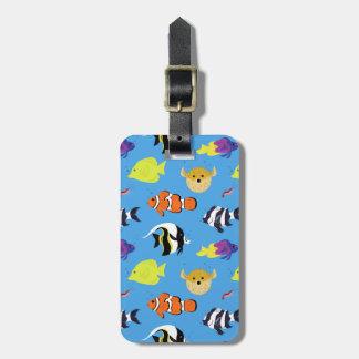 Clownfish y amigos etiqueta para maletas