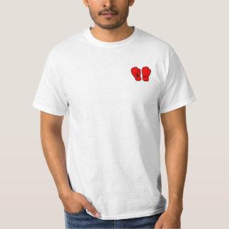 Club anti del boxeo del boxeo camiseta