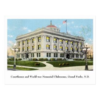 Club conmemorativo de la guerra mundial del postal