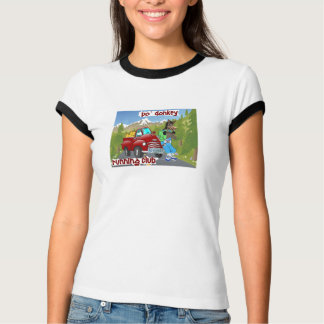Club corriente del burro del Po Camiseta