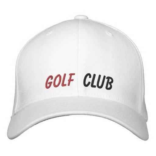 Club de golf bordado del gorra gorras de béisbol bordadas