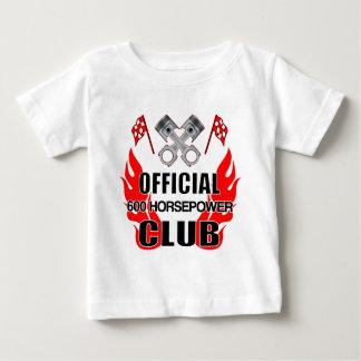 Club de HP del funcionario 600 Camiseta De Bebé