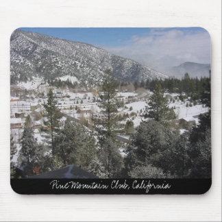 Club de la montaña del pino, California Alfombrilla De Ratón