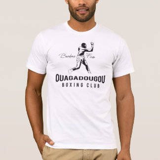 Club del boxeo de Uagadugú Camiseta