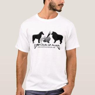 Club del collie de la camiseta del desgaste del