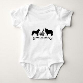 Club del collie del desgaste del logotipo de body para bebé