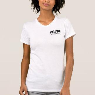 Club del collie del desgaste del logotipo de camiseta