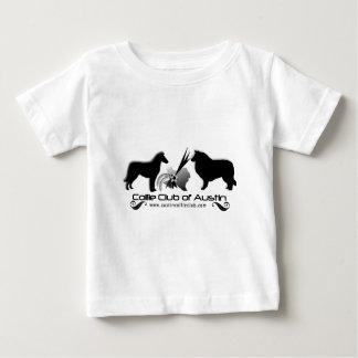 Club del collie del desgaste del logotipo de camiseta para bebé