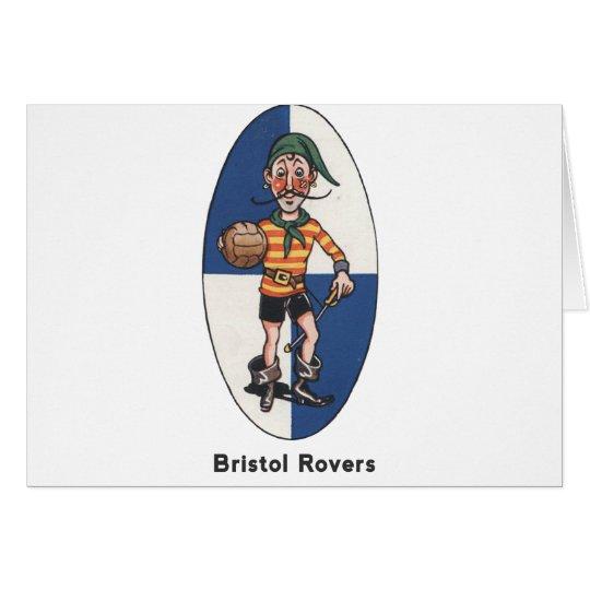 Club del fútbol de Bristol Rovers Tarjeta De Felicitación