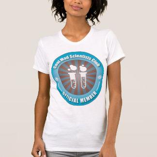 Club enojado fresco de los científicos camiseta