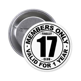 Club finalmente 17 chapa redonda de 5 cm