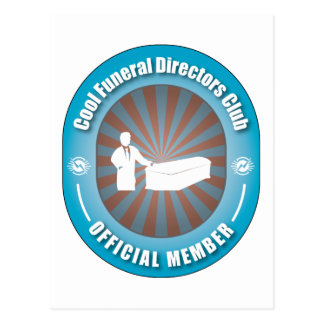 Club fresco de los directores de funeraria tarjetas postales