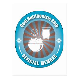 Club fresco de los nutricionistas postal