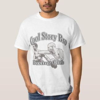 Club fresco del boxeo de Bro de la historia Camisetas