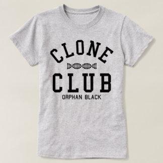 Club negro huérfano de la copia camiseta