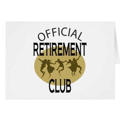 Club oficial del retiro felicitacion