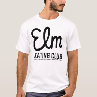 Club patinador del olmo, Elmhurst, Illinois Camiseta