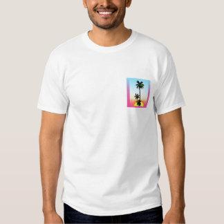 Club polinesio de la palma camiseta