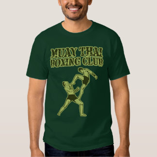 Club tailandés del boxeo de Muay Camiseta