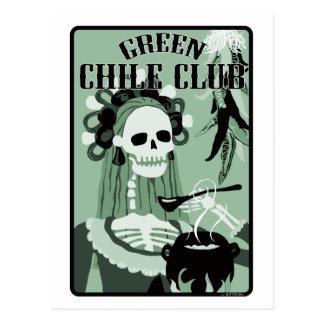 club verde del chile postal