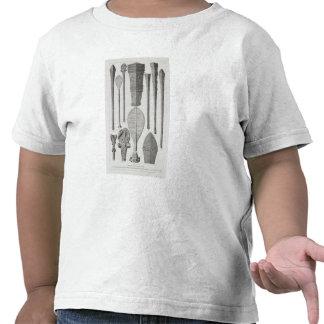 Clubs e insignias de la fila polinesios camisetas