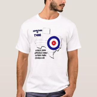 Clubs que se encrespan de Tejas Camiseta