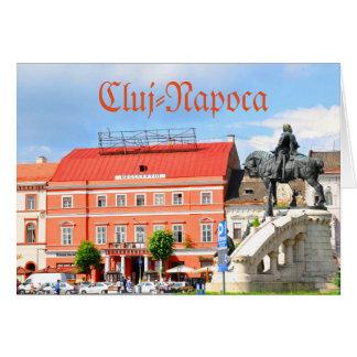 Cluj Napoca, Rumania Tarjeta De Felicitación