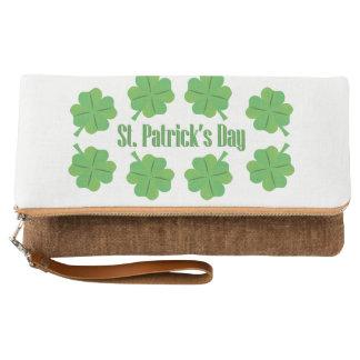 Clutch El día de St Patrick con el trébol