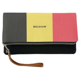 Clutch Embrague de la bandera de Bélgica