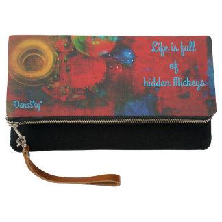 Clutch Monedero/bolso OCULTADOS del embrague de MICKEY