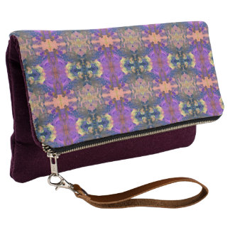 Clutch Paisely rosado azteca