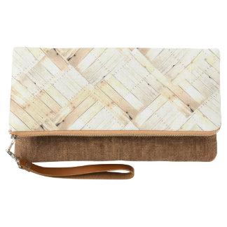 Clutch Revestimiento de madera de madera rústico de
