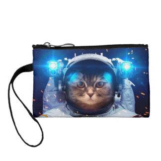 Clutch Tipo Monedero Astronauta del gato - gatos en espacio - espacio