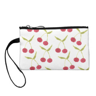 Clutch Tipo Monedero Embrague pintado de la cereza